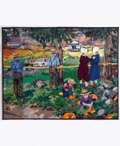 Susan Polasky's Pastoral Disturbance quilt